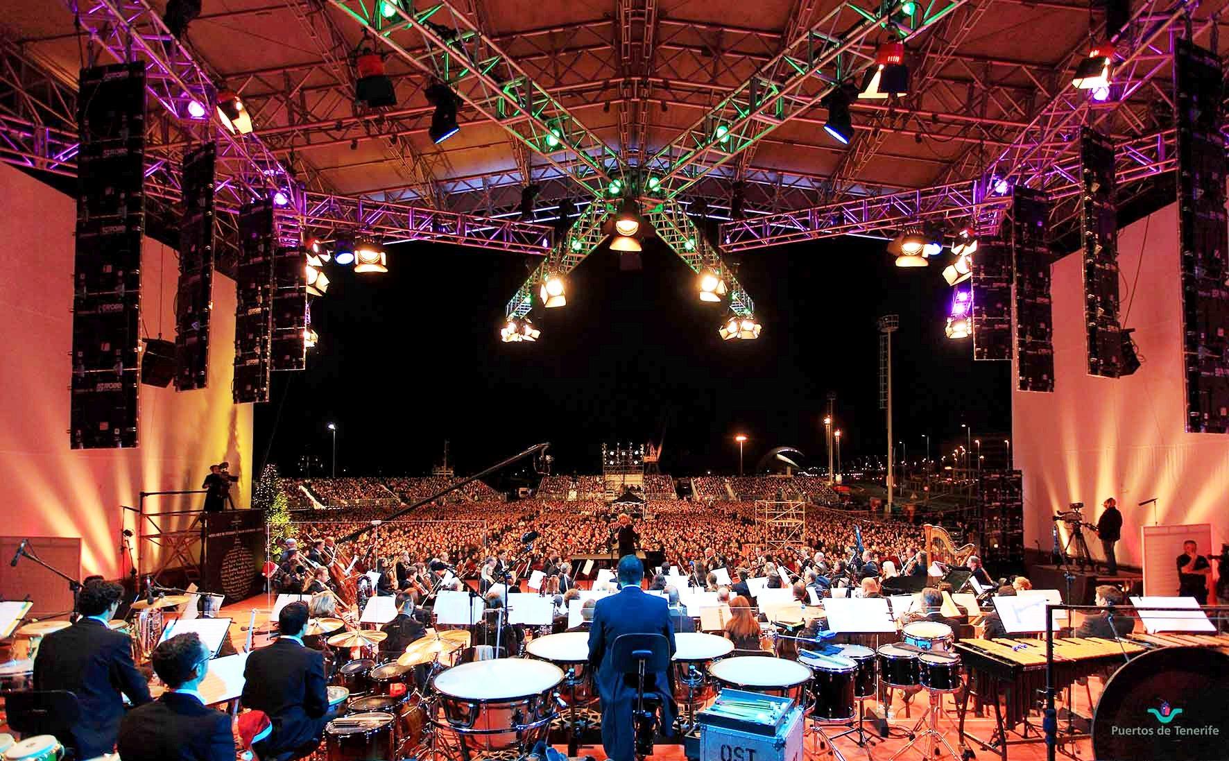 Рождественский концерт Симфонического оркестра Тенерифе
