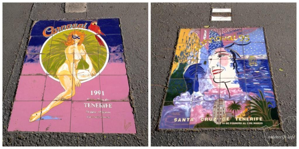 Эмблемы карнавала в Санта-Крус-де-Тенерифе