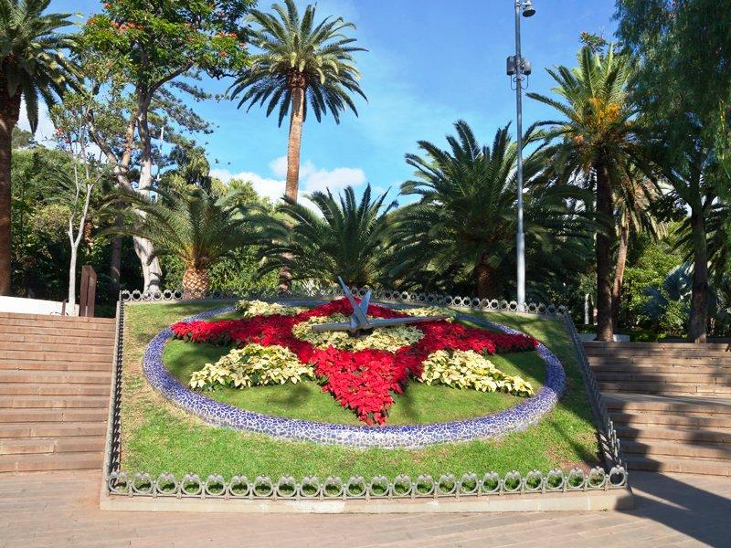 Вход в парк Гарсия Санабрия, Санта-Крус-де-Тенерифе