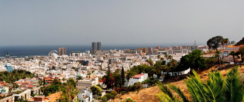 Вид на Санта-Крус-де-Тенерифе