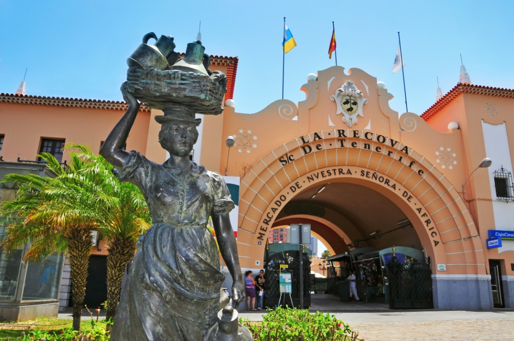 Рынок в Санта-Крус-де-Тенерифе