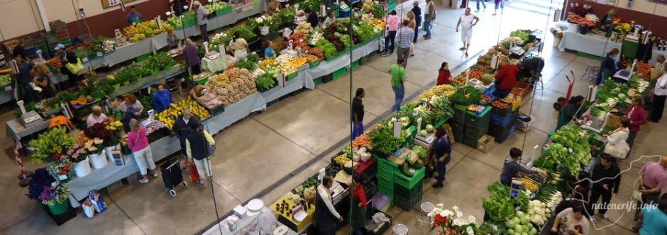 Продуктовый рынок в Адехе на Тенерифе