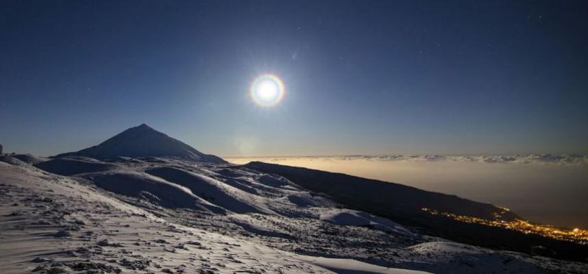 На Тенерифе введена операция «Снегопад»