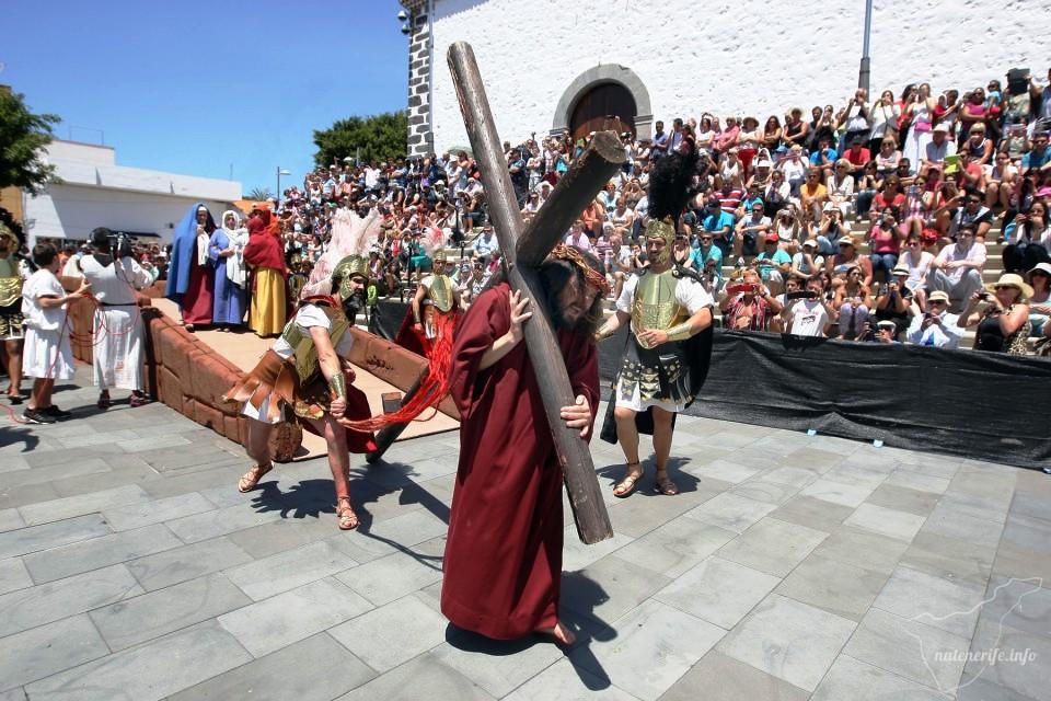 Пасхальное представление в Адехе, Тенерифе