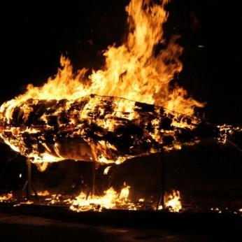 Сожжение сардины, Тенерифе
