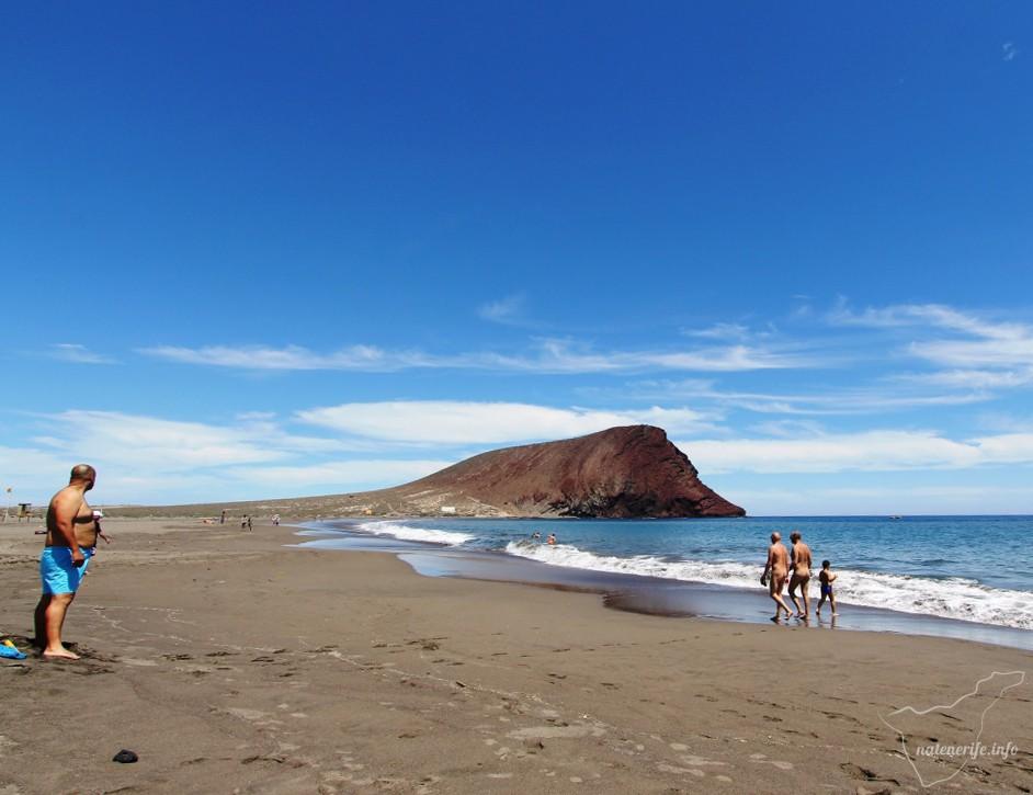 Пляж Ла-Техита, Тенерифе