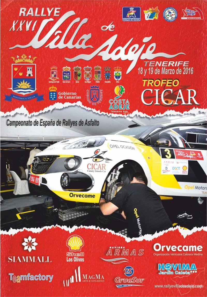 XXVI Ралли в Адехе (XXVI Rallye Villa de Adeje)