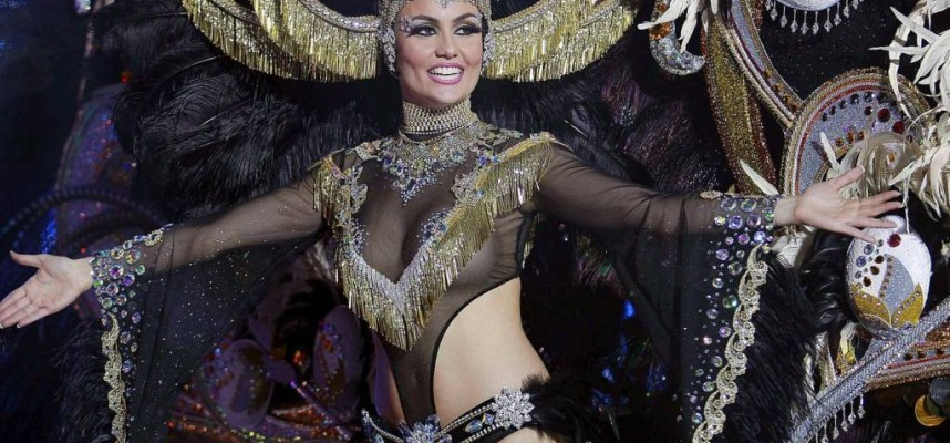 Королева карнавала на Тенерифе