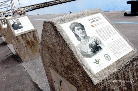 «Аллея знаменитостей» в Санта-Крус-де-Тенерифе