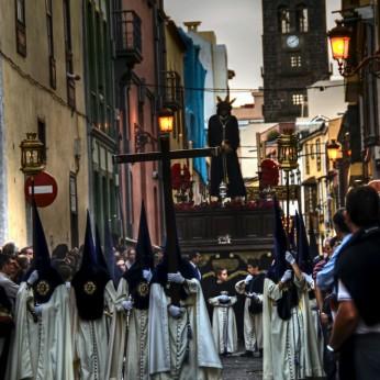 «Безмолвное шествие» в Ла-Лагуне 2016 (Procesión del Silencio en La Laguna)