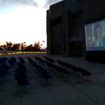 На юге Тенерифе появился кинотеатр под открытым небом