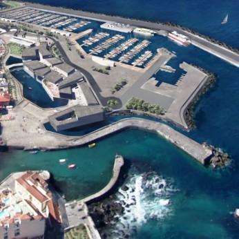 Новый порт в Пуэрто-де-ла-Крус