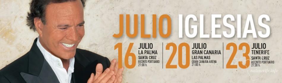 Концерт Хулио Иглесиаса на Тенерифе