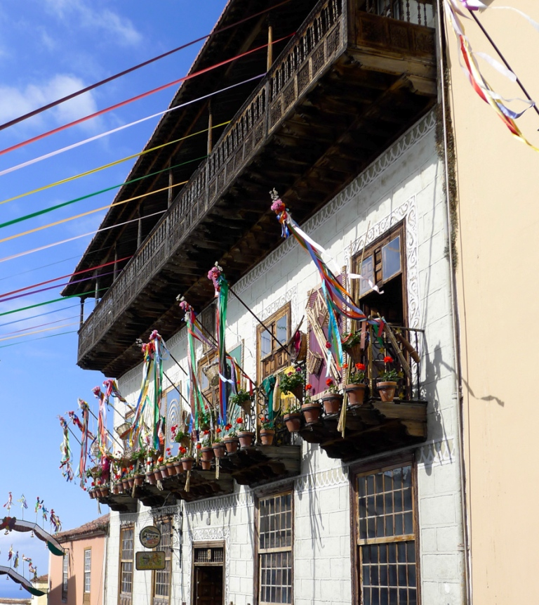 Дом с балконами (Casa de los Balcones), Ла-Оротава, Тенерифе