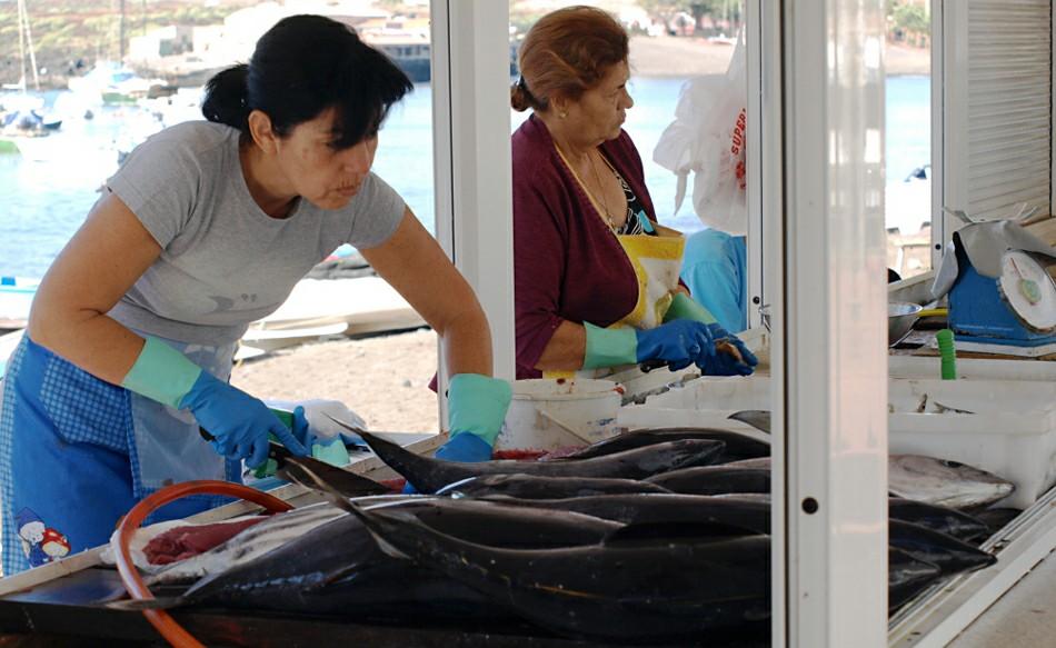 Рыбный рынок в Лас-Гальетас