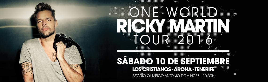 Концерт Рики Мартина на Тенерифе 2016