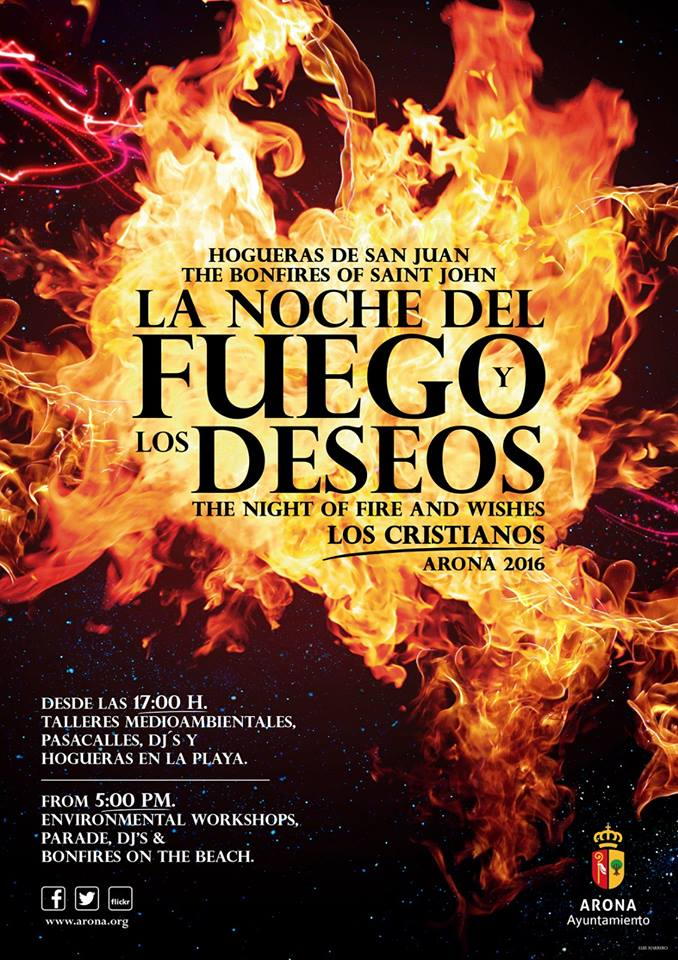 Ночь святого Хуана на Тенерифе: праздник огня
