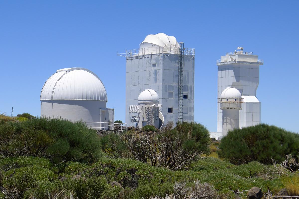 Observatorio del Teide (Обсерватория Тейде)