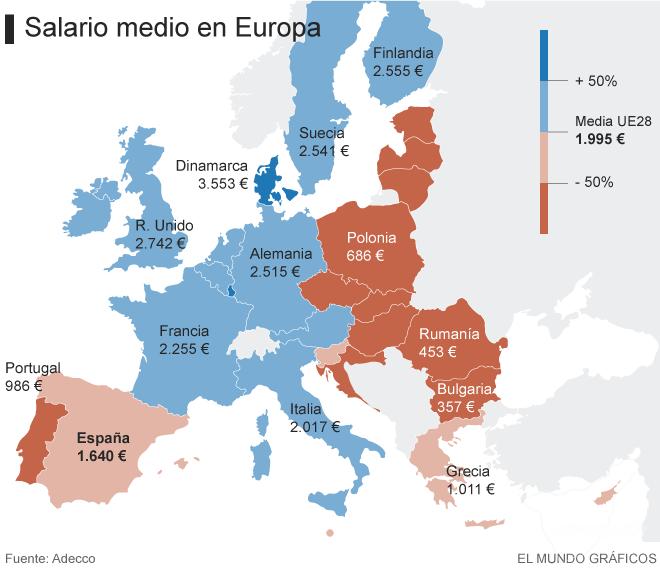 Канарцы в 4 раза богаче болгар и в 2,5 раза беднее датчан