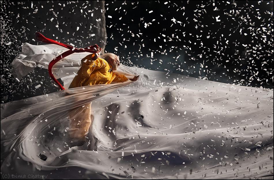 «Снежное шоу» Славы Полунина 2016 Тенерифе