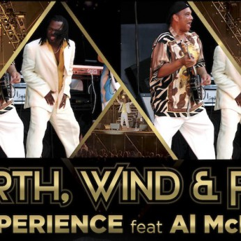 The Earth, Wind & Fire Experience в Пирамиде-де-Арона