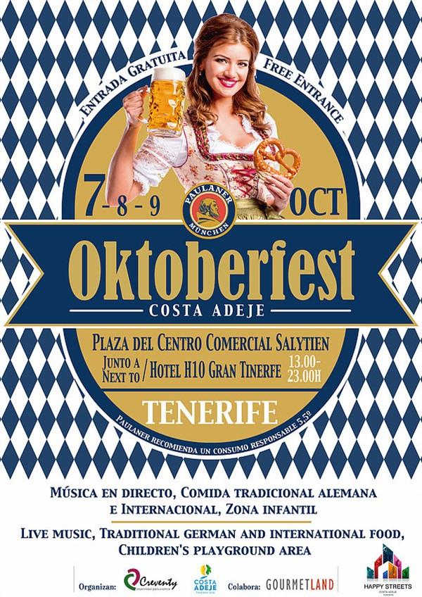 «Октоберфест» в Коста-Адехе, Тенерифе
