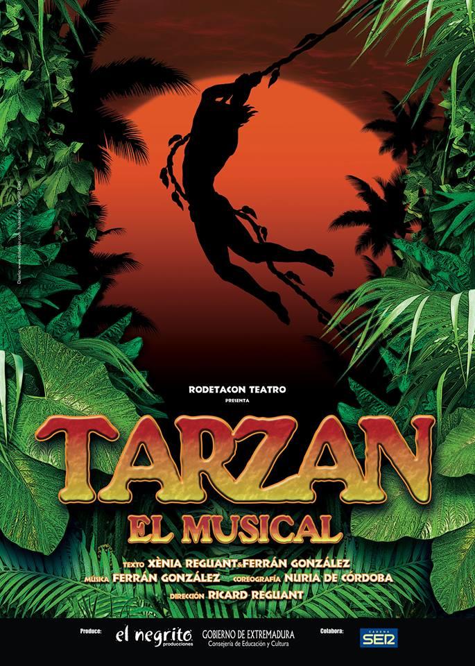 Мюзикл «Тарзан» (Tarzán, el musical) в театре Гимера