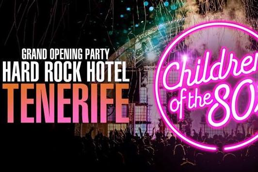 Вечеринка в честь открытия Hard Rock Hotel на Тенерифе