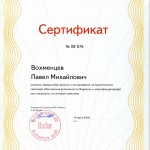 Павел Вохменцев