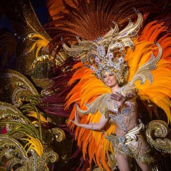 Королевой карнавала 2017 на Тенерифе стала «Мадам Солнце»