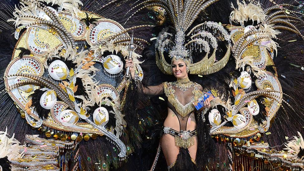 Королева карнавала на Тенерифе 2015