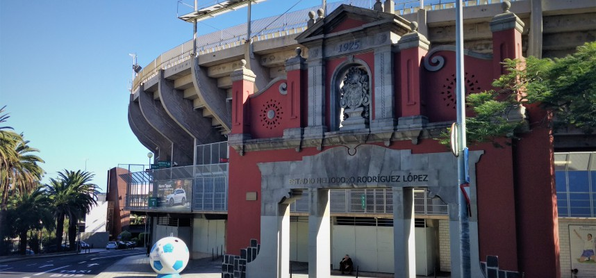 Estadio Heliodoro Rodríguez López (Стадион Элиодоро Родригес Лопес)