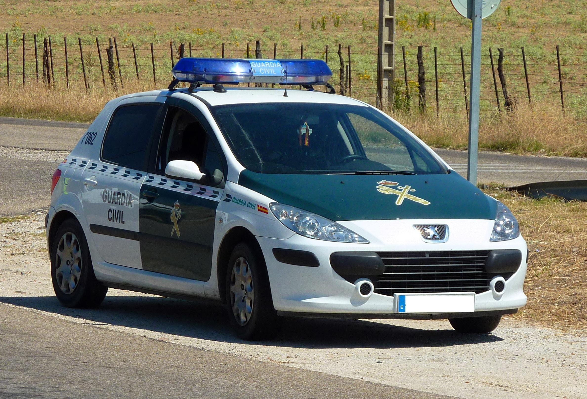 Гражданская гвардия (Guardia Civil) на Тенерифе