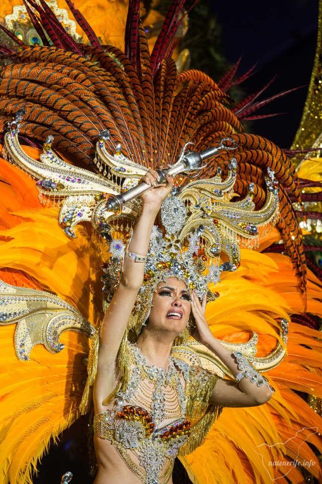 Королева карнавал Тенерифе 2017