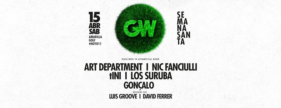 Фестиваль электронной музыки GreenWorld Festival