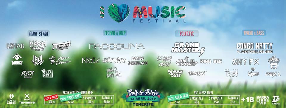 Фестиваль электронной музыки на Тенерифе I Love Music Festival 2017