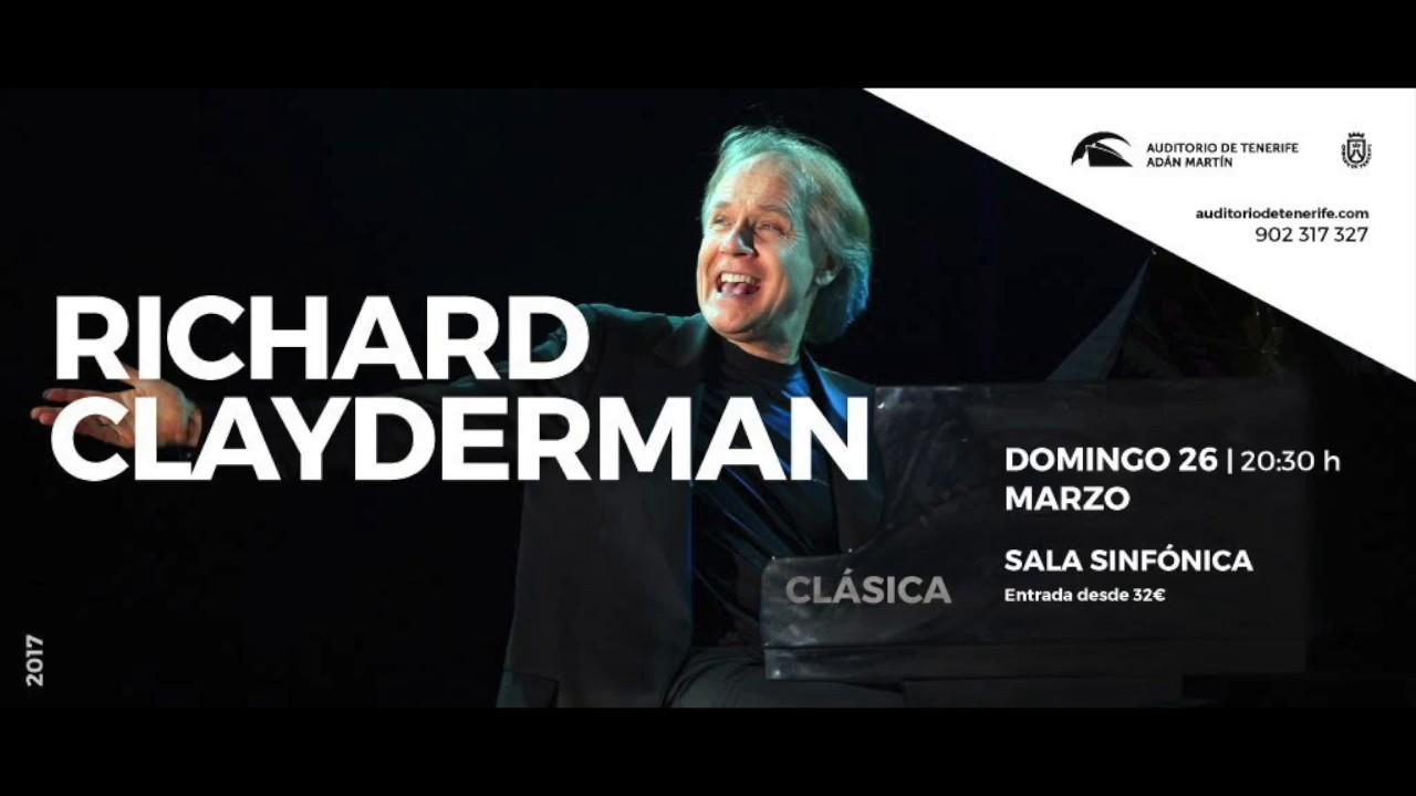Пианист Ричард Клайдерман в Аудиторио-де-Тенерифе