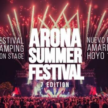 Музыкальный фестиваль Arona Summer Festival 2017