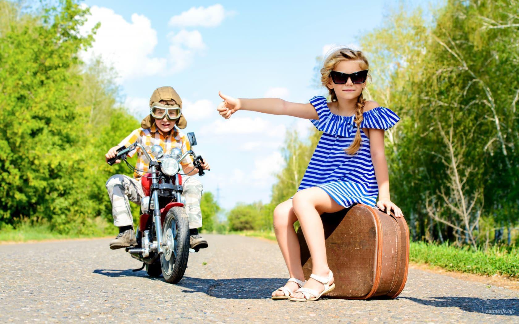 путешествия с детьми фото